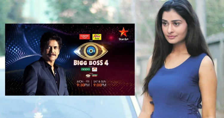 Payal Rajput in Bigg Boss4