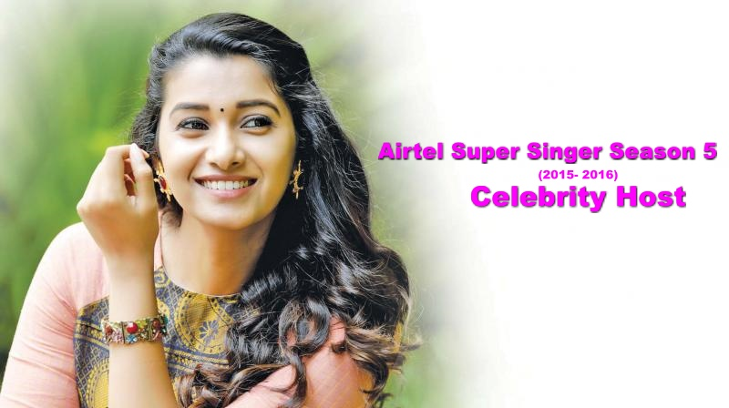 Priya Bhavani Shankar in Airtel Super Singer Season 5