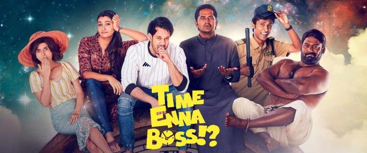 Priya Bhavani shankar in Time Enna Boss (Web Series)
