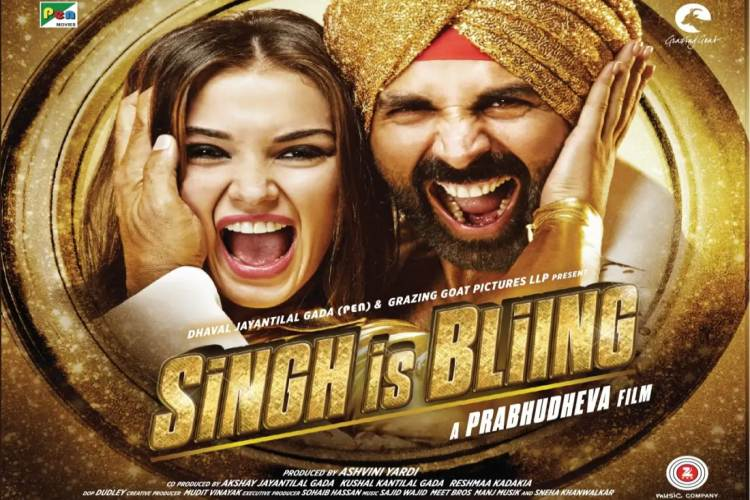 Amy Jackson in Singh Is Bliing