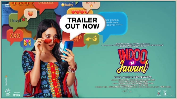 Kiara Advani in Indoo Ki Jawani
