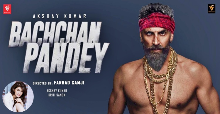 Kriti Sanon in Bachchan-Pandey
