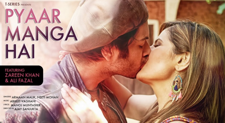 Zareen Khan in PYAAR MANGA HAI (Video Song)