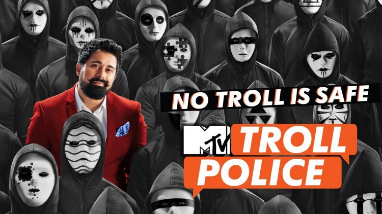 Zareen Khan in MTV Troll Police (Mini Series)