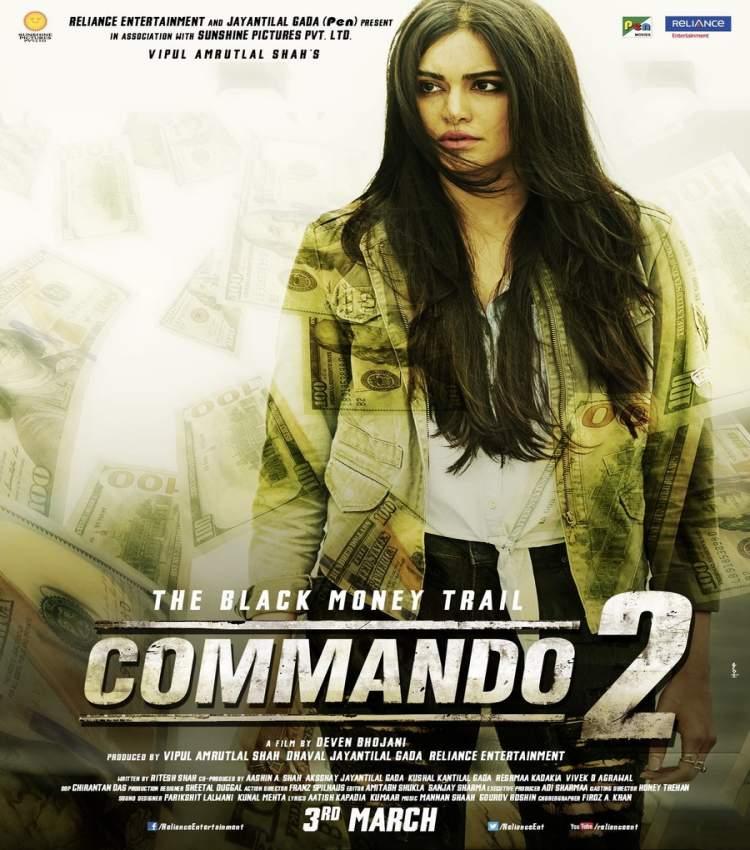 Adah Sharma in Commando 2