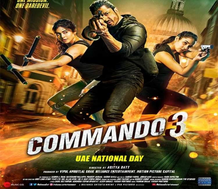 Adah Sharma in Commando3