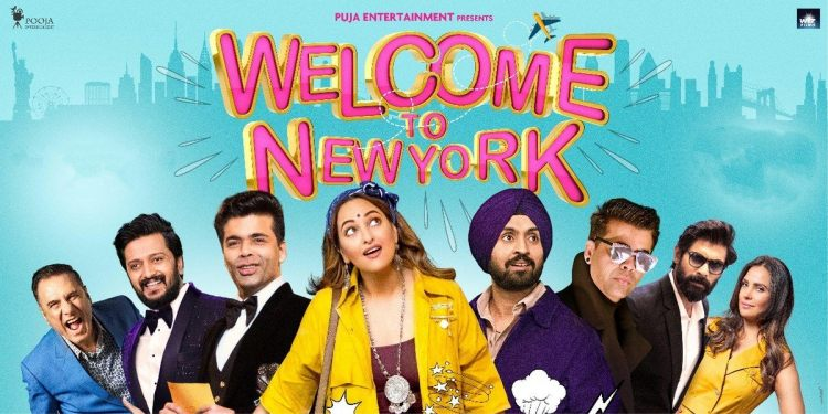 Welcome to New York in Dishapatani