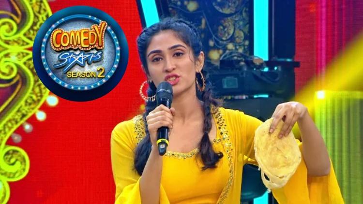 Deepti Sati in Comedy stars season 2